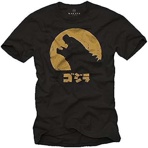 dia del orgullo friki Camiseta Frikis Hombre - Godzilla