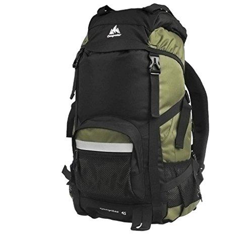 spalla sacchetto di alpinismo Polar zaino esterno maschile viaggi femminile ultraleggero escursioni e viaggi di piacere 50L grande capacità impermeabile armygreen