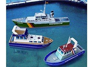 aue-verlag 16x 4x 7cm Navires modèle Kit (Petit, 3pièces)