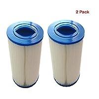 QQA 2 Pcs Filter Cartridge Paper Core Pool Spa Hot Tub Jacuzzi Long Filter