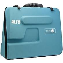Alfa STYLE TO U - Funda semirrígida para máquina de coser, color azul