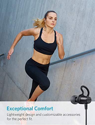 Anker SoundBuds Surge Bluetooth Kopfhörer, in Ear magnetischer Kopfhörer mit 6-Stunden-Spielzeit/Wasserschutzklasse IPX4/Mikrofon für iPhone, iPad, Samsung, Nexus, HTC und mehr - 3