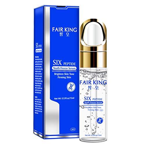 Ardorlove Six Peptide Freeze Serum Fine Pores Delicate and Smooth Skin Clear Skin Facial Serum Brightening and Moisturizing Wrinkle Repair - Skin Brightening Serum