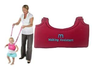 enfant tout-petits bébé harnais pour apprentissage aide à la marche trotteur - couleur rouge