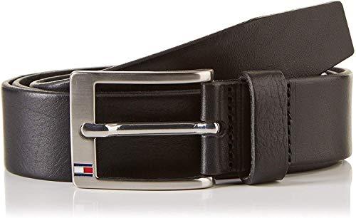 Tommy hilfiger herren new aly belt gürtel, schwarz (black), lunghezza: 110 cm