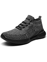 TQGOLD® Unisex Uomo Donna Scarpe da Ginnastica Corsa Sportive Sneakers Running Basse Basket Sport Outdoor Fitness Respirabile Mesh
