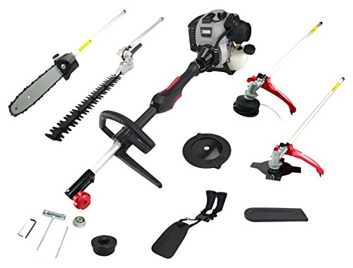 Xceed EX52BC Multiherramienta jardín 55cc 4 1: cortabordes/desbrozadora/cortasetos/motosierra