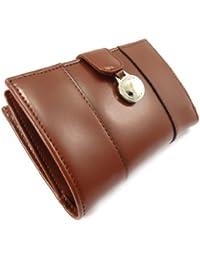Francinel [K5595] - Portefeuille cuir 'Vendôme' marron