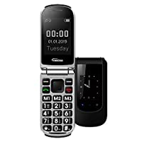 YINGTAI T09 Big Button Senior Phone with SOS Button. Unlocked Flip Phone for Elderly