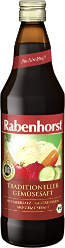 Rabenhorst Traditioneller Gemüsesaft bio, 6er Pack (6 x 700 ml)