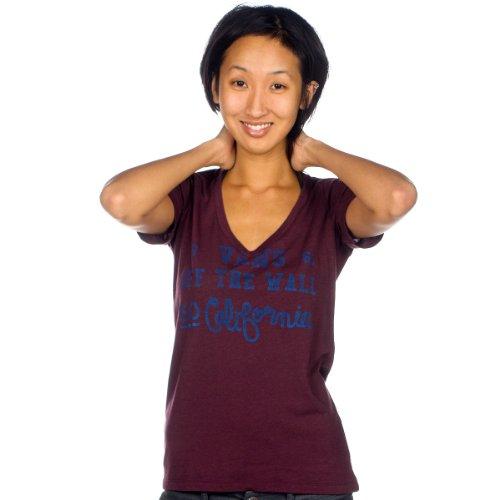 Vans t-shirt pour femme workwear Violet - Marron