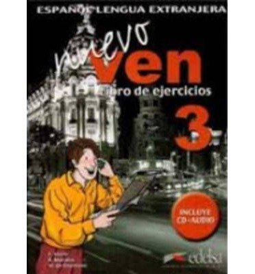 Nuevo Ven 3 Ejercicios + CD (Mixed media product)(Spanish) - Common
