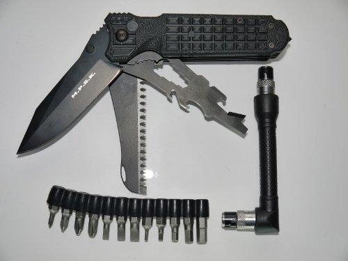 Preisvergleich Produktbild Fox Knives Military Division Einhandmesser Taschenmesser Klappmesser Multitool