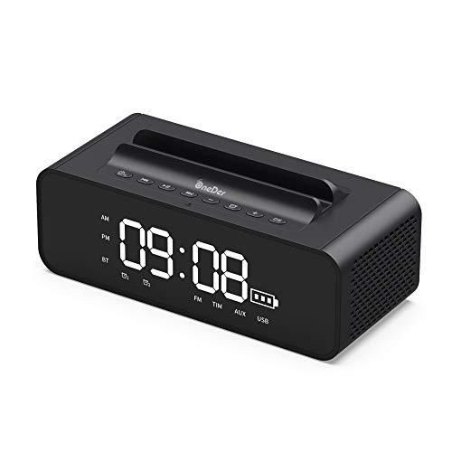 THINKMIC Bluetooth Altavoces, inalámbrico, portátil, 3D Surround, el Tiempo de 6 Horas...