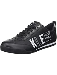 Mens Welby Smooth/Nylon Trainers Calvin Klein