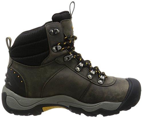 Keen Revel Iii, Chaussures de Randonnée Hautes Homme, Gris Gris (Magnet/Tawny Olive)