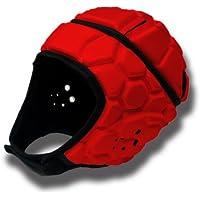 Barnett Heat Pro - Casco (Talla M), Color Rojo