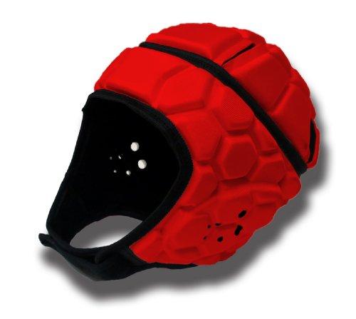 barnett HEAT PRO caschetto casco da rugby competizione, t junior, rosso