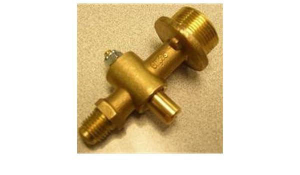 MHP Charmglow Outdoor Gas Light Brass Valve Propane Gas Light Fits GLV-LP New
