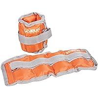 Set bestehend aus 2 Knöchel-, Handgelenk- und Gewichte Set - für Fitness, Aerobic - Verstellbare Hand Fußgewichte - 2 x 3kg