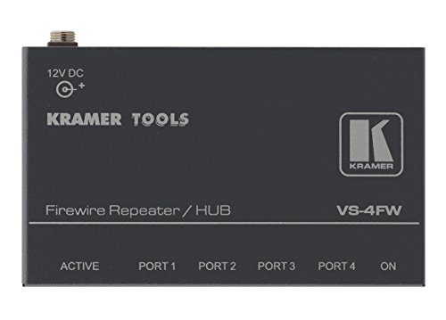 Kramer Electronics vs-4fw 4 Port Firewire Repeater/Hub