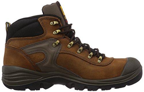 Caterpillar Pneumatic S3 Sra, Chaussures de Sécurité Homme Marron (Dark Brown)