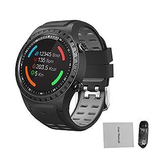 starter Smartwatch GPS Sportuhr Bluetooth Anruf Multi-Sport Modus Kompass Höhe Outdoor Sports Smart Watch SMA-M1