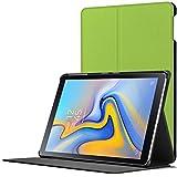 Forefront Cases Samsung Galaxy Tab A 10.5 Hülle | Magnetische Hülle und Ständer für Samsung Galaxy Tab A 10.5 Zoll Tablet-PC SM-T590/T595 | Automatische Schlaf-Wach-Funktion | Dünn Leicht | Grün