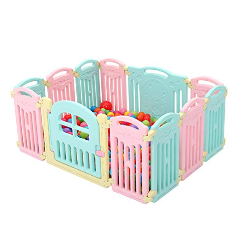 85a4597dcec25 Parques de juegos- PE Baby Playpen Indoor 12 Panel Play Yard Hogar 10 Panel  Kids