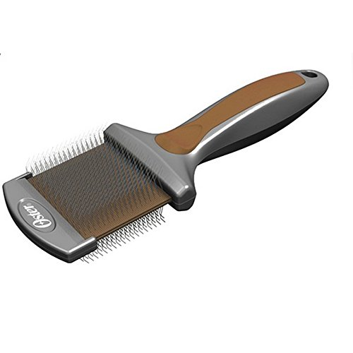 kruuse-oster-premium-flexible-dog-grooming-slicker-brush-one-size-silver-beige