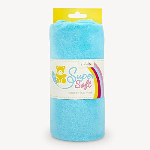 Zu Machen Leicht Kostüm Babys - kullaloo Supersoft Shorty SB-Pack Plüschstoff, Minky, Türkis, 8.5 x 8 x 21 cm