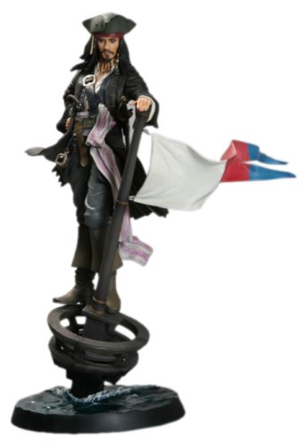 Pirates of the Caribbean Jack Sparrow (non-scale PVC painted simple assembly kit) (japan ()