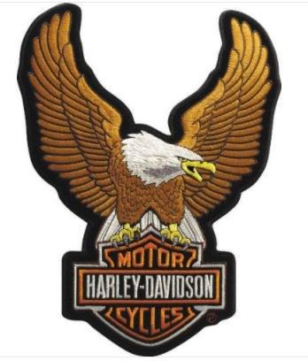 Articoli regalo e merchandising Generico Piccola Toppa Patch Aquila Hog Nuovo Modello Harley Davidson