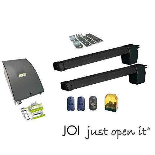 DUCATI HC619 automatisme kit motorisation pour portail battant maxi 3m /300kg chaque vantail ouvre...
