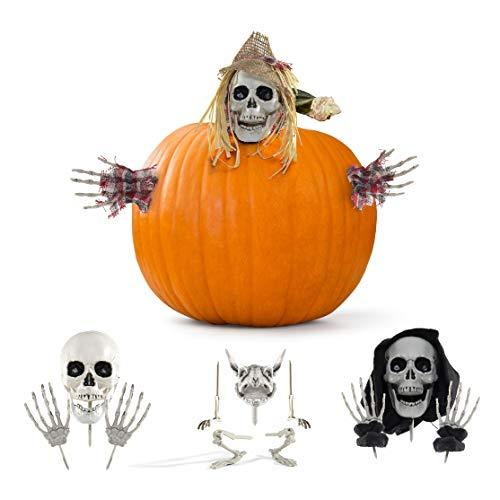 Prextex.com accessori zucca halloween per la migliore zucca decorata per halloween