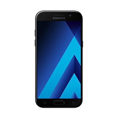 Samsung Galaxy A5 (2017) - Smartphone Libre DE 5,2' (Android 6.0, Pantalla Super AMOLED táctil capacitiva, cámara Trasera 16 MP y Frontal 16 MP, 32 GB) [Versión española] Negro