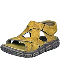 Onbeat Kids Leather Floater and Outdoor Sandals