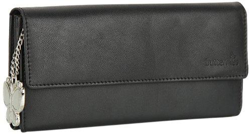 Butterflies Women's Wallet (Black) (BNS 2008)