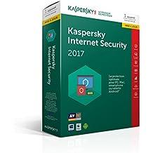 Kaspersky Internet Security 2017 Mise à jour | 1 poste | 1 an | PC/Mac/Android/iOS | Téléchargement