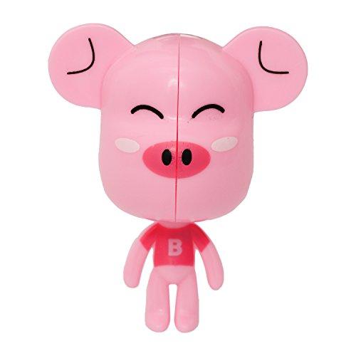 Buddyboo Pink (B)Pig Shaped Tooth Brush Holder