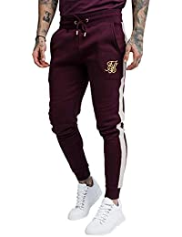 Sik Silk Hombres Pantalones Deportivos Fitted Taped a2c0051dbb5a