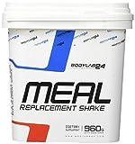 Bodylab24 Meal Replacement, Vanillepulver, ideal um bei einer Diät Frühstück, Mittag- oder Abendessen zu ersetzen, ohne Zusatz von Zucker, 960 g
