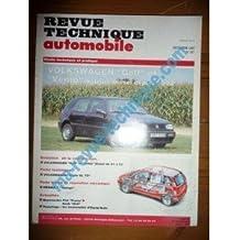 RTA0557 - REVUE TECHNIQUE AUTOMOBILE VOLKSWAGEN VW GOLF et VENTO Diesel depuis 1992
