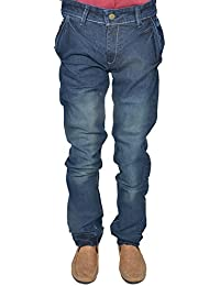 Leo Men's Blue Stretchable Slim Fit Jeans (J15)