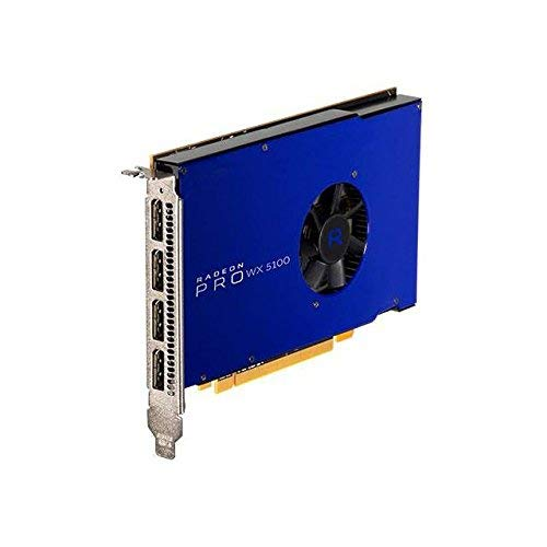 AMD-FirePro Radeon Pro WX 51008GB PCIe 3.016x 4x DP Retail in GPU-Speicher