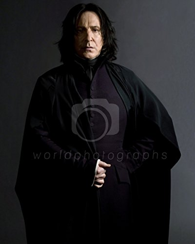 worldphotographs Harry Potter und der Halbblutprinz (2009) Alan Rickman Professor Severus Snape Foto 25,4 x 20,3 cm