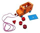 #9: Skola Toys Pull Along Shape Sorter Bus