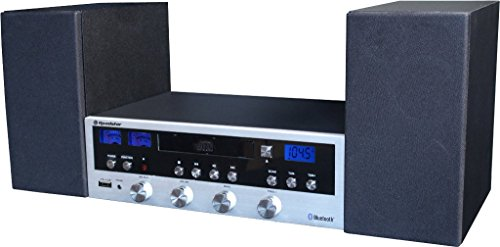 Roadstar HIF-6970BT Home HiFi System (Micro Anlage mit Bluetooth, CD, MP3, USB, Aux-In, RCA) (Energy-home-theater-system)
