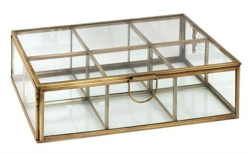 Signes Grimalt–dekoschac Htel Retro, cristal/metal, 24cm