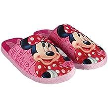 MINNIE - Zapatillas de estar por casa de Material Sintético para niña rosa fucsia